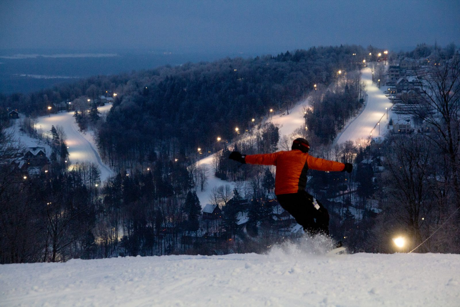 Ski Bromont lance ses traditionnelles Nuits Blanches