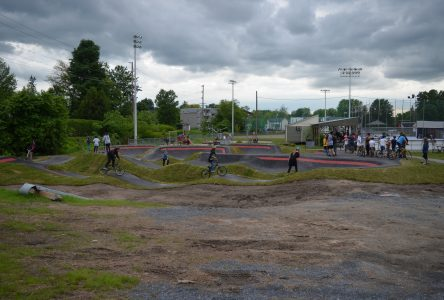 Un «party» pour inaugurer la pumptrack