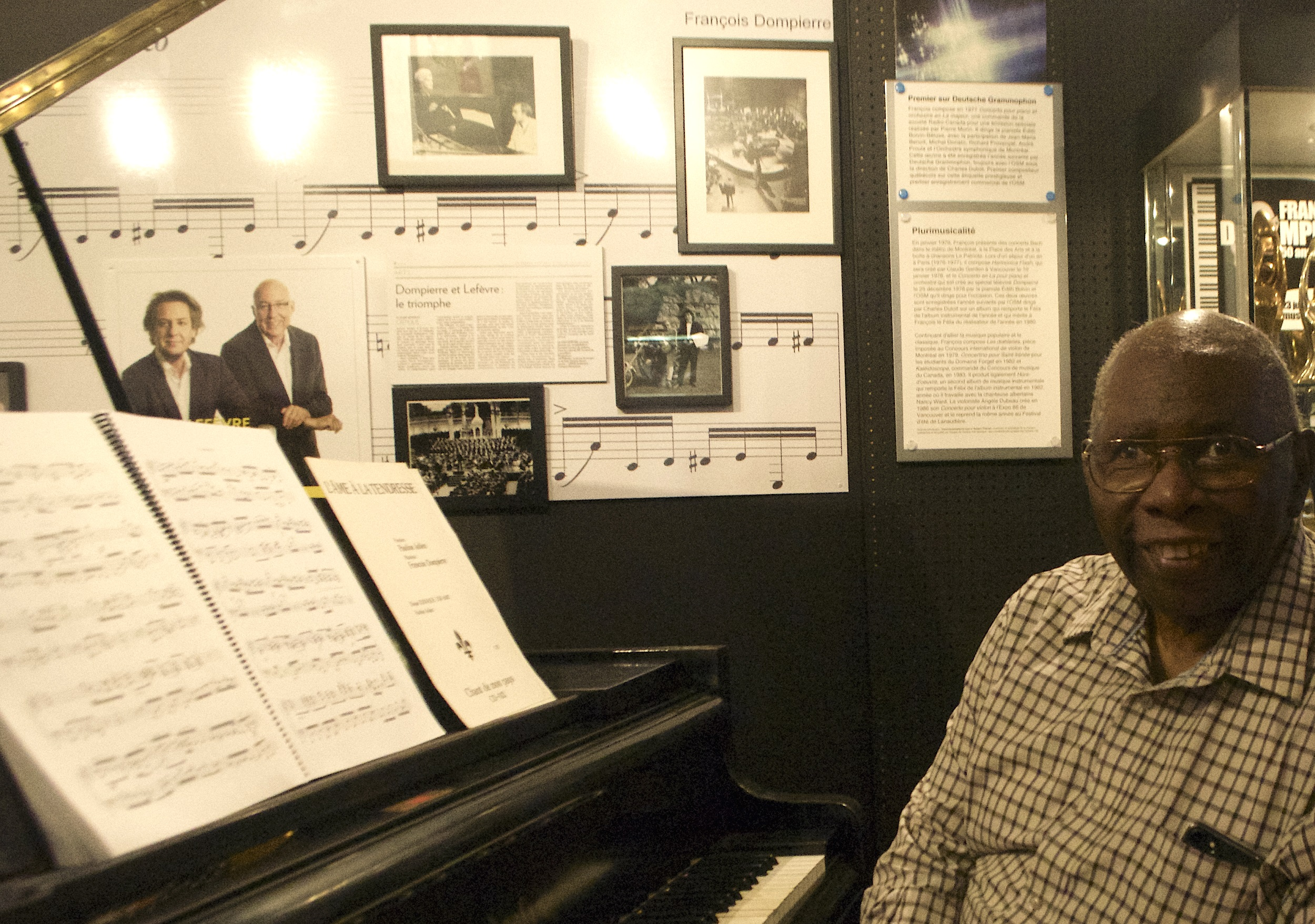 Un piano Bösendorfer attire Oliver Jones à Sutton